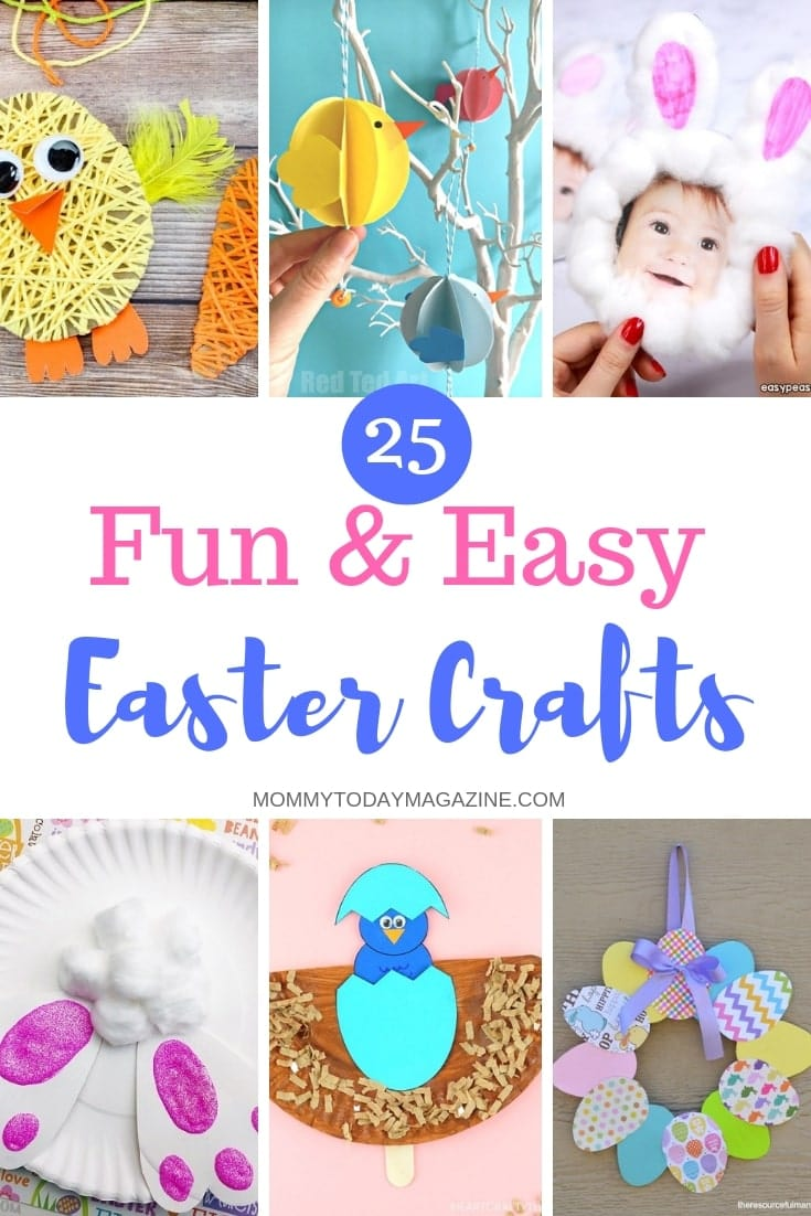 25 Fun And Easy Easter Crafts Mommy Today Magazine