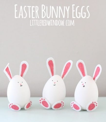 Easter Bunny Eggs - Fun Easter Crafts for Kids