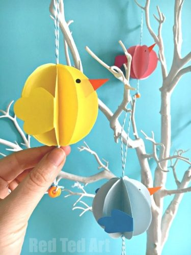 Easy Paper Chick Craft
