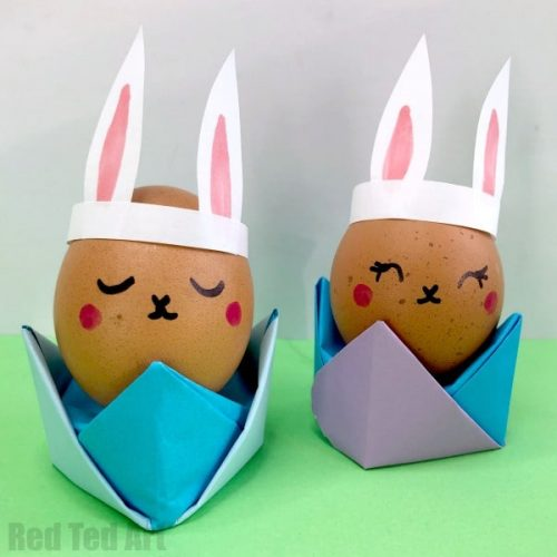 Origami Egg Cups - Easter Crafts