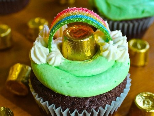 St Patricks Day Guinness Cupcakes