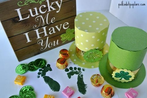 St. Patrick's Day Crafts for Kids - St. Patrick's Day Leprechaun Hats