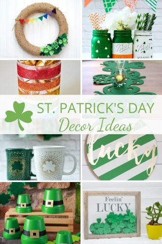 St. Patrick's Day Decor Ideas - DIY St. Patrick's Day Decorations for your home!