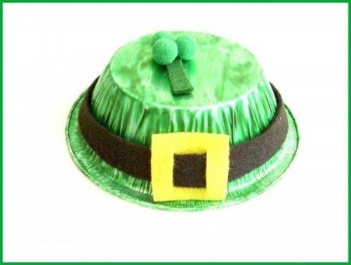 St. Patrick's Day Leprechaun Hat - St. Patrick's Day Crafts for Kids
