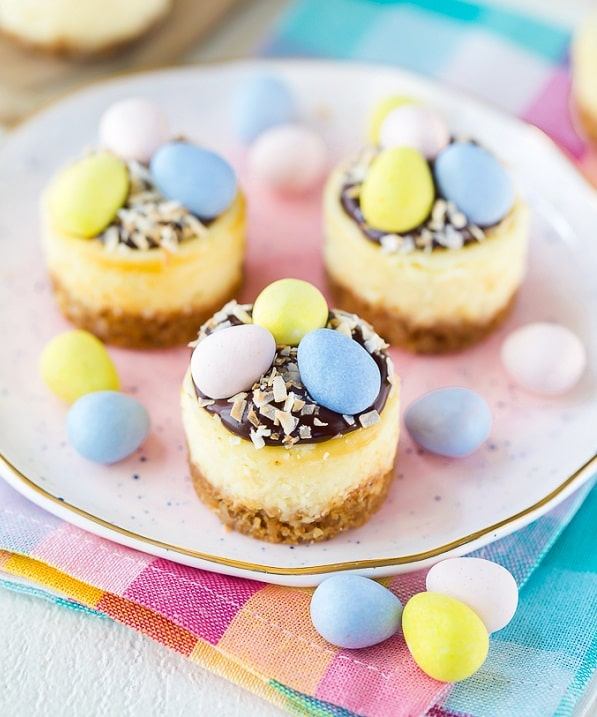 Cadbury Mini Eggs Cheesecake
