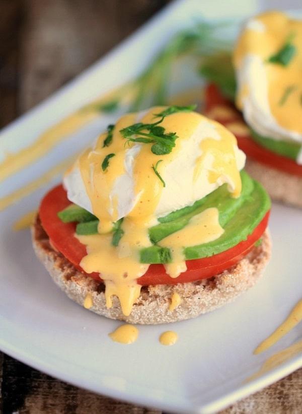 California Style Eggs Benedict