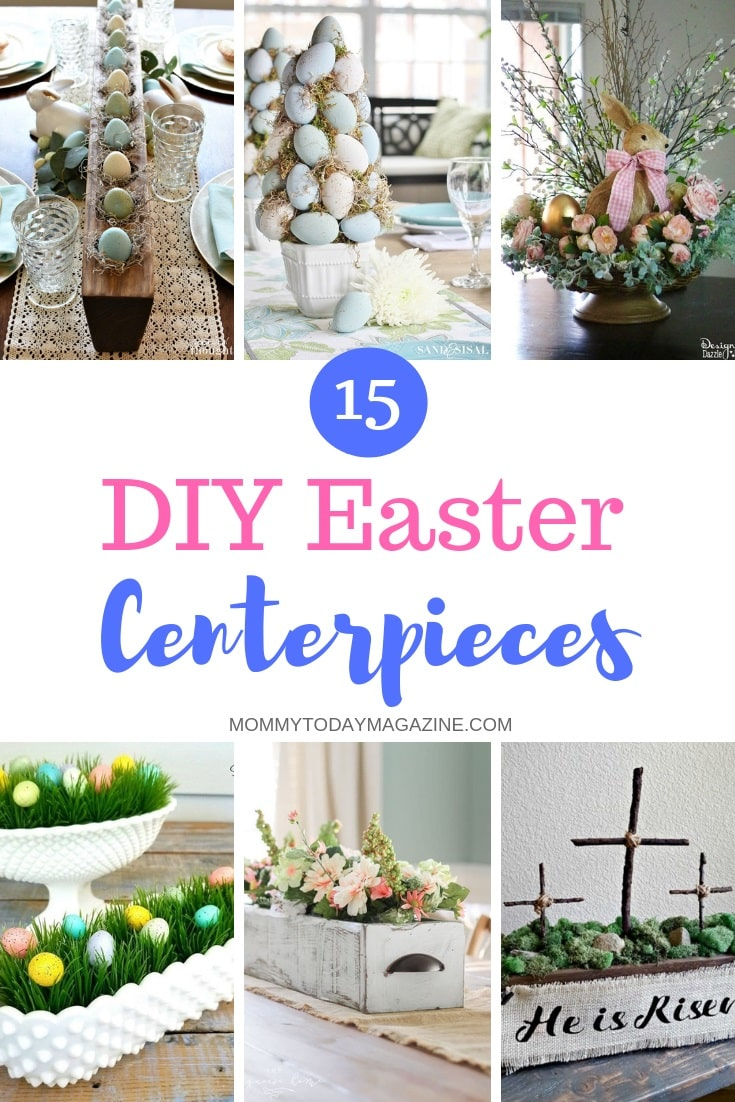 DIY Easter Centerpieces - Easter Tablescape Ideas To Make