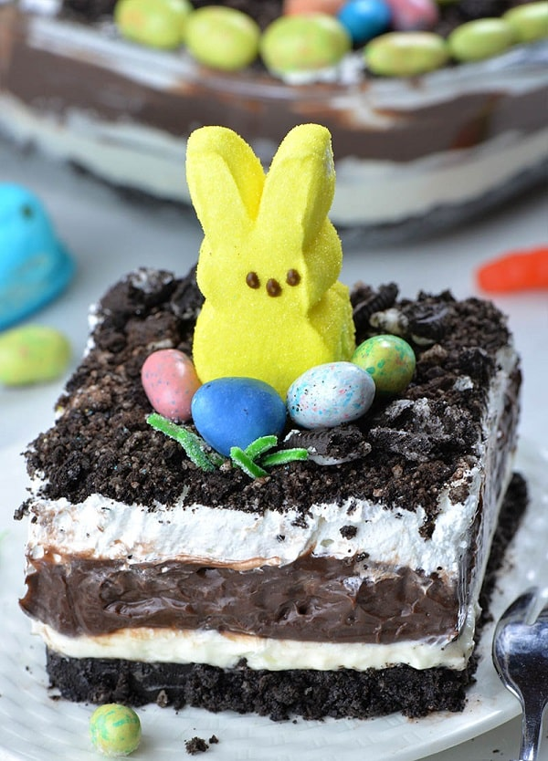 Easter Chocolate Lasagna