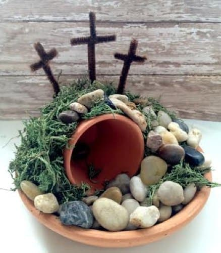 Easter Empty Tomb Craft - DIY Easter Centerpiece