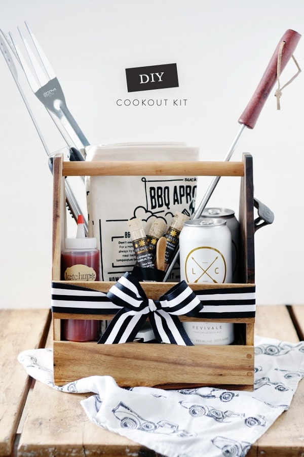DIY Cookout Kit for The Dad Who Loves To Grill