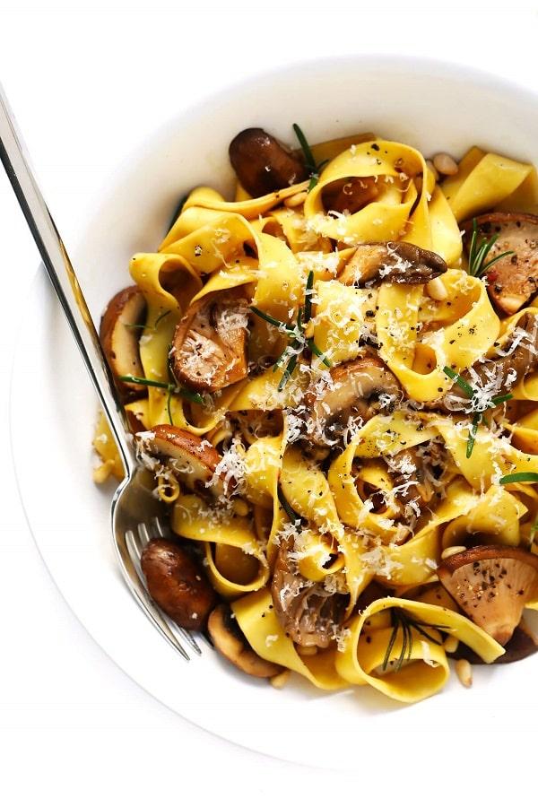 Mushroom Lovers Pasta - Vegetarian Pasta Recipes
