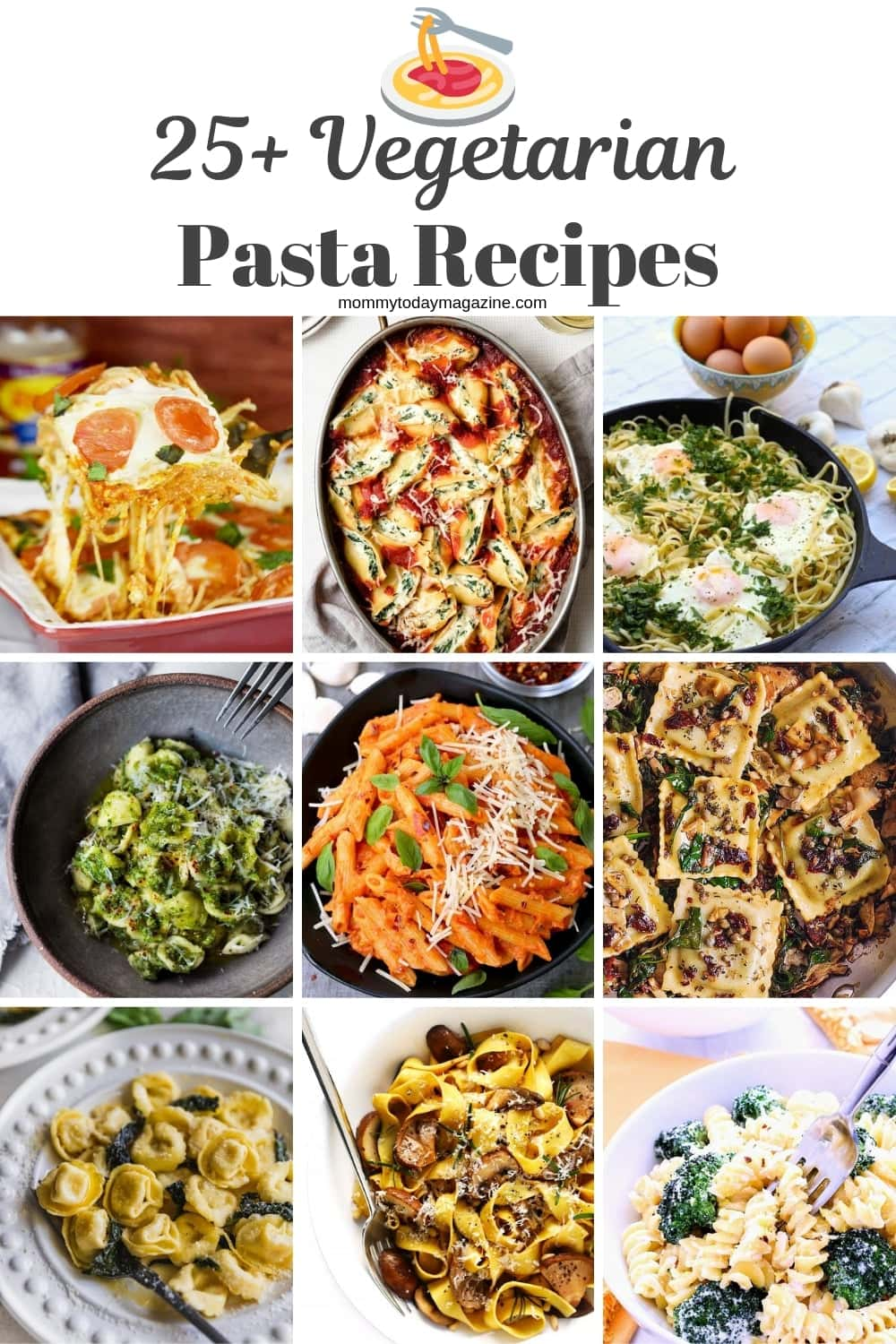Vegetarian Pasta Recipes - Easy Meat-free Pasta Dishes