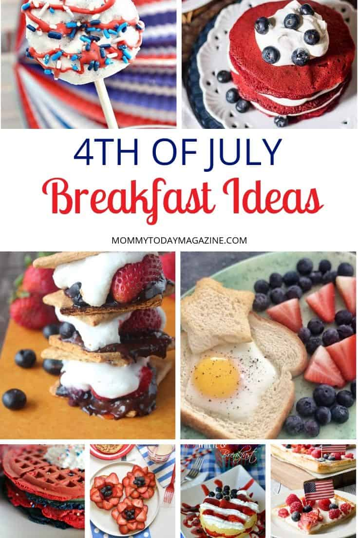 Easy 4th Of July Breakfast Ideas for the whole family
